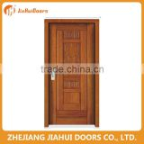 modern design security 2hour fire rated wooden door in China