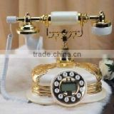 Vintage home decoration antique telephone corded phone