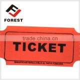 raffle ticket/coupon ticket roll paper, printing redemption ticket roll                                                                         Quality Choice