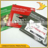 DVD, VCD, CD case printing