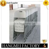 hot sale blow mold plastic folding wedding banquet foldable chair                                                                         Quality Choice