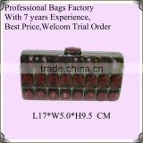 Bags Factory Produce Stone Clutch Bags Lady Studded Bags Jewelled Handbags Beaded Bag