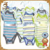 2016 new fashion baby clothes yarn-dyed cotton carters baby clothes