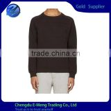 Wholesale Bulk Cheap Price Black Plain Long Sleeve tshirts