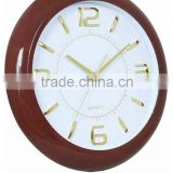 2014 New Design Antique Wood Frame Wall Clock