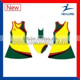sublimation cheap netball dress