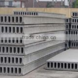 Hollow core slab machine concrete struction