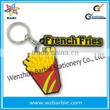 Soft Rubber Of Food Shaped Key Chain