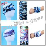 Best selling Top Quality durable multi colors custom print logo square bandana hat