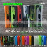 factory wholesale silicone case/skin/sleeve/decal/wrap/enclosure/cover/protector for SMOKE first starter kit SMOKE Micro ONE R80