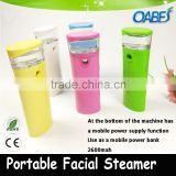 handle nano mist face cooling spray home use beauty device electric portable facial steamer