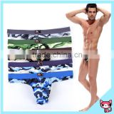 Camouflage Pants T back Underwear With Butt Plug sexy g-string Sexy Product Free Sample Sexy Men Brief Underwear