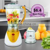 Factory Price Hot Sell 2 in 12 Speed Plastic Jar Blender Mixer                                                                         Quality Choice