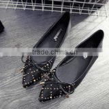 low price rhinestones pearls shoe flats whoelsale                                                                         Quality Choice