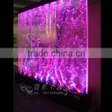 public indoor decoration led acrylic water bubble wall
