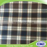 reycled cotton yarn dyed big check fabric for men's shorts                                                                                                         Supplier's Choice