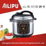 CE&CB approved and stainless steel housing 8.0L best commercial/residential mini electric pressure cooker