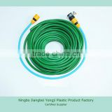 high quality 5/8'' PVC garden water hose pipe/ braided fiber hose                                                                         Quality Choice