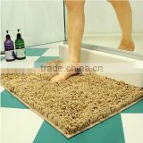 Hot Sale Microfiber Water-Absorbing Clean Bath Mat / Bathroom Door Mat