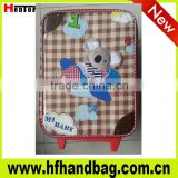 doll style trolley bag for kids travel suitcase