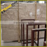 Wholesale Turkey beige dark Cappucino marble kitchen slab