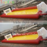 2014 News Inflatable soap football field,soccer football field fence