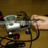 AC Mini Air Compressor airbrush make up compressor for tatoo makeup DH18K-2 (GS, CE, ROHS, ETL, CETL)