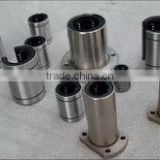 Hot sale stainless steel bushing linear motion grease bearing with flanges