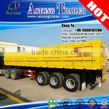 Multi Purpose 3 Axles Detachable high Side Wall Cargo Truck Trailer for sale