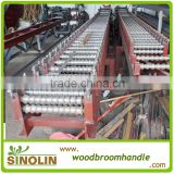 broom stick straighten machine,wooden broom stick making straightening machine                                                                         Quality Choice