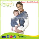 BCW-11B factory direct wholesale mesh fabric baby wraps baby sling carrier