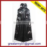 China factory cheap wholesale 100% polyster design black cosplay pirate costumes for men