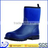 Men's fishing boots rubber cable boots for wholesale