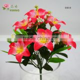 34cm length natural fresh like azalea rhododendron flower for promotional gifts