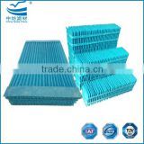 Spunlace fabric material of air cooler pad