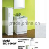 Cheap Compact Laminate Bath Vanity Cabinet Sets Antique Bathroom Furniture
