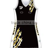 latest sublimation netball skirt/bib/dress