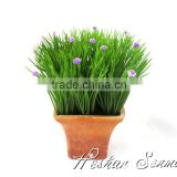 Cheap wholesale artificial onion grass bonsai plant wholesale onion grass