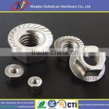 DIN 6923 Stainless Steel Hex Flange Nut