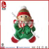 China wholesale soft pet toy with teether plush elf toy for dog