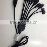 9 in 1 Universal USB Charger Cable For iPod / iPhone / PSP / Camera / Nokia / HTC / LG / Samsung / BlackBerry