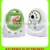 2.4GHz Wireless Digital Baby Monitor with Two Way Audio and Temperature Alarm and TV out function