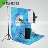 Background stand backdrop support system kit for photography background