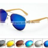 2016 cheap hot sell handmade wooden bamboo sunglasses/fishing glasses/Outdoor sports glasses