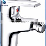 Classic lavatory single zinc handle brass body bidet faucet MARTI decked chrome plating bidet mixer
