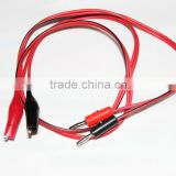 Digital Multimeter Alligator Crocdile Test Jump Lead Clip To Banana Plug Test Lead