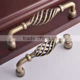 160mm nest shaped ancient vintge t bar closet wine cabinet livingroom classical bronze pull