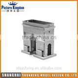 Brandenburg Gate educational 3d metal puzzle /Intelligence Toy 3D Assembly IQ Metal Puzzle