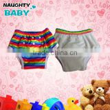 High quality reusable waterproof Baby kids bamboo training pants toddler potty training pants one size fits all potty trainers