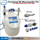 CE approved Radio frequency/fractional rf microneedle/fractional rf portable machine